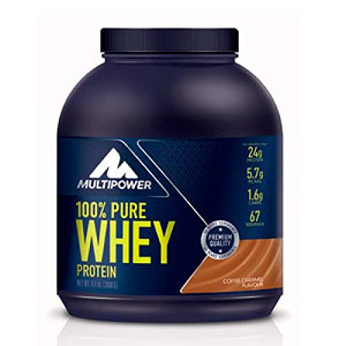 Multipower 100% Pure Whey Protein - 2 kg French Vanilla
