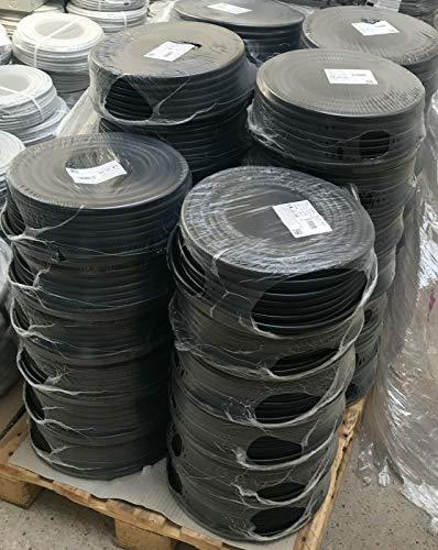 Erdkabel NYY-J 5x6 mm² RE schwarz Ring 50m 5x6qmm für den Innen- und Außenbereich