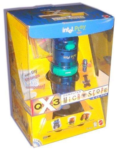 Intel Play QX3 Computer Microscope & CD-ROM