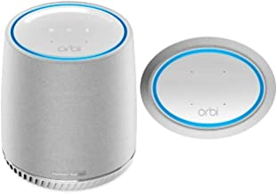 NETGEAR Orbi Voice Whole Home Mesh WiFi Satellite Extender - with Amazon Alexa and Harman Kardon Speaker Built in, AC2200 (RBS40V)