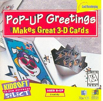 Pop-Up Greetings - Makes Great 3-D Cards