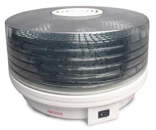 Sale!! Aroma Housewares AFD-615 5-Tier Rotating Food Dehydrator