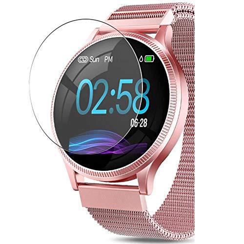 Vaxson 3 Stück 9H Panzerglasfolie kompatibel mit AIMIUVEI M8 smartwatch Smart Watch, Panzerglas Schutzfolie Displayschutzfolie Bildschirmschutz