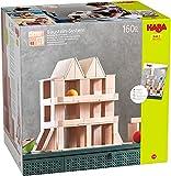 HABA Jouet en Bois-Blocs de Construction Clever-Up 4.0, 306251, coloré
