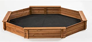 6.6' Octagon Sandbox, Kids Sandbox