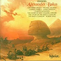 Handel: Alexander Balus by Oxford Choir of New College (1998-06-10)