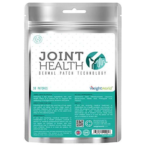 Joint Health Pflaster - Schmerzpflaster Entzündungshemmend, Sensitiv gegen Gelenk Schmerzen in Knie, Schulter, Rücken & Nacken, Wärme Patch gegen Schmerz der Gelenke - 30 Selbstklebende Patches