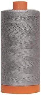 Aurifil Grey Cotton 50-Weight 1,300-meter Mako Thread
