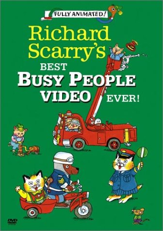 Richard Scarry - Best Busy People Video Ever [DVD] [Import]