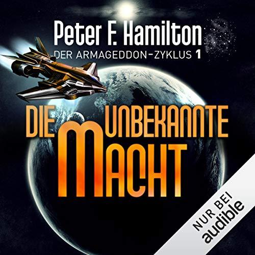 Die unbekannte Macht audiobook cover art