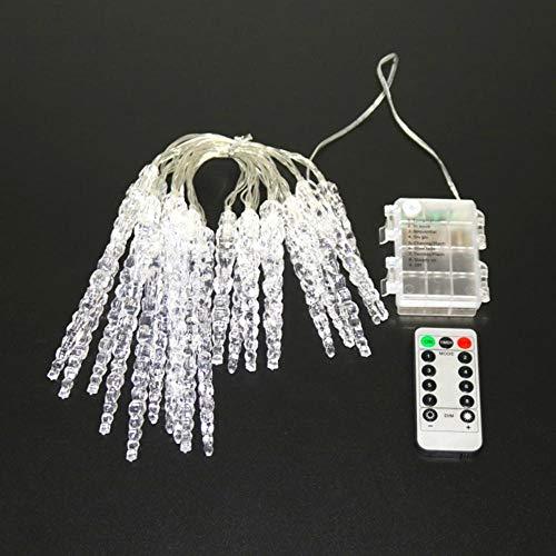 Luci A LED Per Ghiaccioli Impermeabili Con Telecomando Luci Da Fata Per Decorazioni Per Matrimoni/Feste/Tende/Giardini 6M 20 Led
