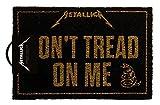 empireposter Metallica - Dont Tread On Me - Fußmatte
