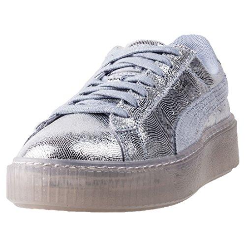PUMA Basket Platform Ns Damen Sneaker Metallisch