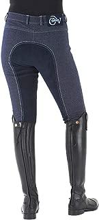 Ovation Women's Euro Melange Full Seat Cotton Breeches
