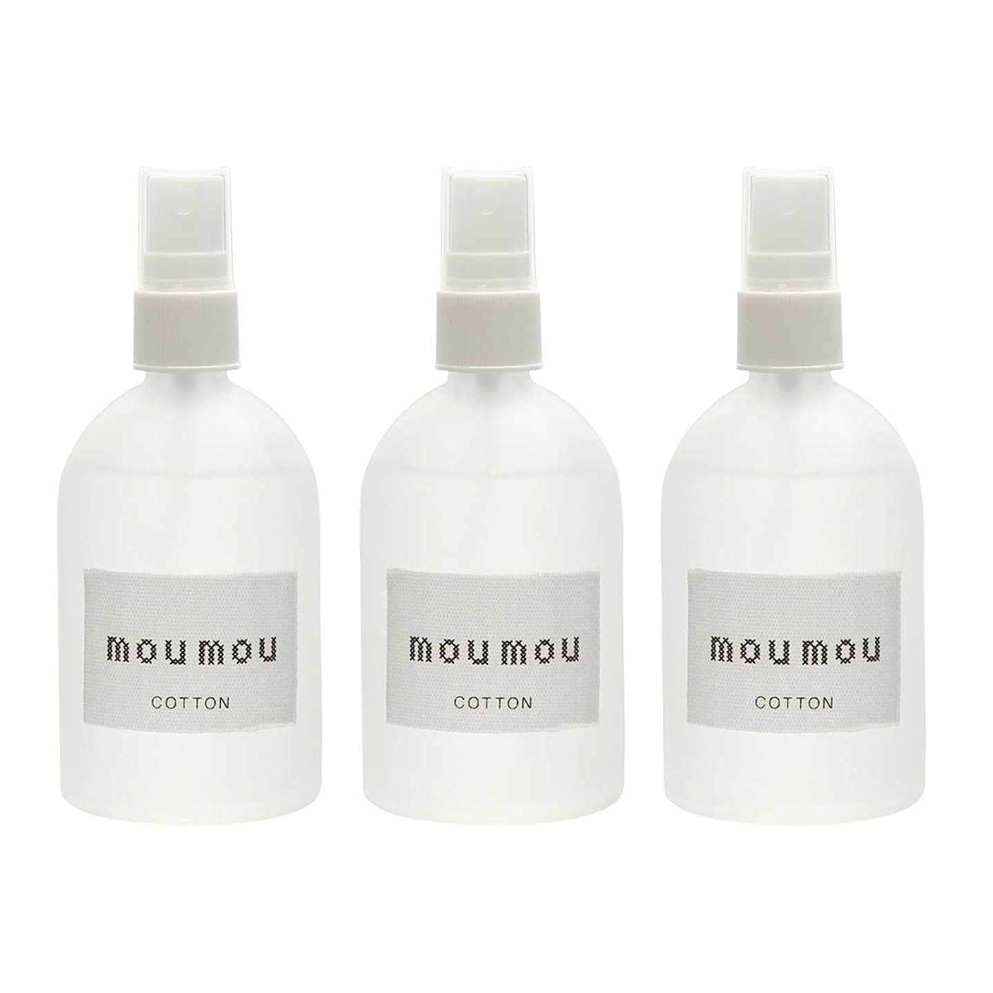 MOU MOU ピローミスト コットン 100mL 3個セット