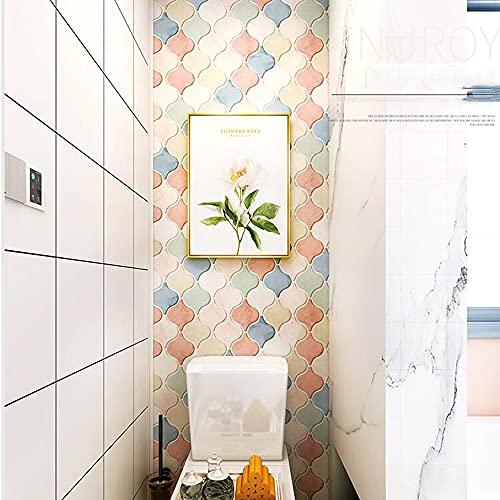 LIANG Pelar y pegar azulejos Backsplash para cocina/baño, pegar en azulejos adhesivos, azulejos de pared, papel pintado impermeable de 23.6 x 39.3 pulgadas (color: 02)