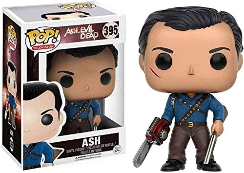 ZGZZ ¡Popular! Ash VS Evil Dead - Figura de Vinilo Coleccionable de Ash de la Serie Pop Television
