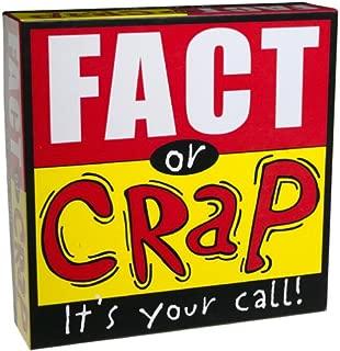University Games Fact or Crap Board Game