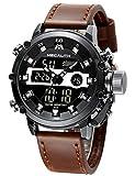 Relojes Hombre Reloj Militar Deportivos Digital Impermeable LED Cronometro Calendario Fecha Electrónico Reloj Grandes...
