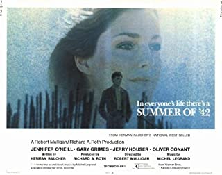 Summer of '42 Movie Poster (22 x 28 Inches - 56cm x 72cm) (1971) Half Sheet -(Jennifer O'Neill)(Gary Grimes)(Jerry Houser)(Oliver Conant)