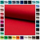 Stoff Baumwoll-Jersey JULE UNI in vielen Farben Oeko-Tex
