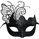 Masquerade Mask for Women Venetian Mask/Halloween/Party/Ball Prom/Mardi Gras/Wedding/Wall Decoration-Black Butterfly