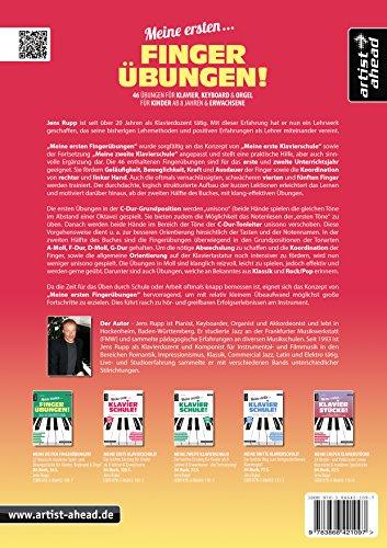 Meine ersten Fingerübungen! 46 Übungen für Klavier, Keyboard & Orgel – für Kinder ab 8 Jahren & Erwachsene. Fingertraining. Lehrbuch für Piano. Musiknoten. - 2