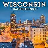 Wisconsin Calendar 2022: 16-Month Calendar, Cute Gift Idea For Wisconsin State Lovers Women & Men