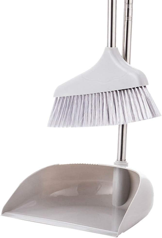 cheap NLIAN- Good Grips Louisville-Jefferson County Mall Sweep Set with and Self Cleaning Broom Dust Pa