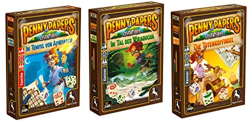 Unbekannt Pegasus Spiele - Penny Papers Adventures (3er Bundle) (Deutsche Ausgabe)