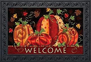 Briarwood Lane Fall Festival Pumpkins Doormat Welcome Primitive Indoor Outdoor 18