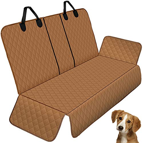 Knodel Pet Car Seat Cover, 100% Waterproof Bench Car Seat Cover Protector, Nonslip & Washable, Universal Size Fits for Cars, Trucks & SUVs