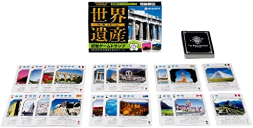 World Heritage memory game playing cards (japan import)