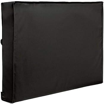Wetour Cubierta Universal para televisor (Impermeable, Protector de Pantalla para televisores de 22 a 70 Pulgadas, LED, LCD y Plasma), Color Negro: Amazon.es: Hogar