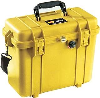 Pelican 1430 - Case 13.56X5.76X11.7In YEL No Fm, Yellow