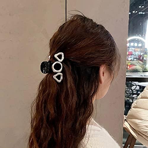 DLVKHKL Femmes Retro Femmes Hair Craw Crab Crab Crab Clips Coiffure Filles Élégant Headwear Poneytail Barrettes Barrettes Accessoires pour Cheveux (Color : A)