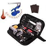 Z ZELUS 518 Pcs Kit de Herramientas de Reparación de Relojes Herramientas Relojeria Portátil con Varios Accesorios Profesionales