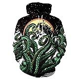 KBCJUB Sweater Holgado con Estampado Digital Big Sea Overlord de Deep Sea Overlord