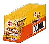 Pedigree Hundesnacks Hundeleckerli Schmackos 4 Sorten Geschmacksrichtungen, 14 Packungen (14 x 172 g)
