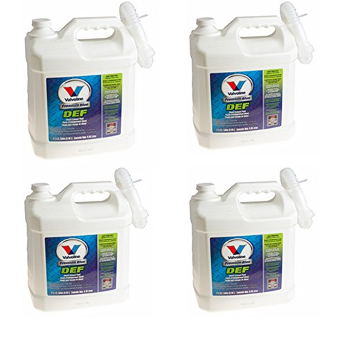 Premium BLUE DEF Valvoline Diesel Emissions Fluid for SCR Code Four 2.5 Gallon Bottles