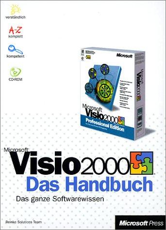 Microsoft Visio 2000, Das Handbuch, m. CD-ROM