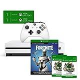 Xbox One S 1TB (weiß) - Fortnite Bundle (inkl. Fortnite: Battle Royale, EON Skin-Set und 2.000...