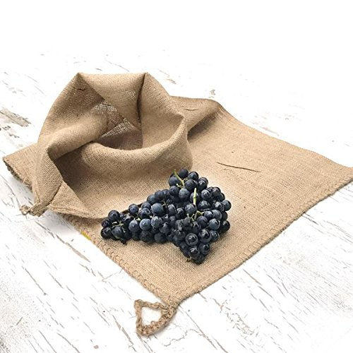 Raw Rutes - Natural Burlap Filter Strainer Bag for Pressing Wine, Cider and Fruits!