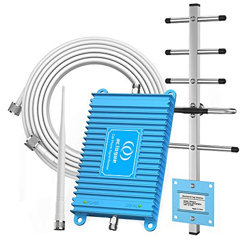 Home Cell Phone Signal Booster for ATT 850MHz Band 5 FDD 2G 3G Mobile Signal Repeater Amplifier with Outdoor Directional Antenna and Indoor Omni-Antenna Kits