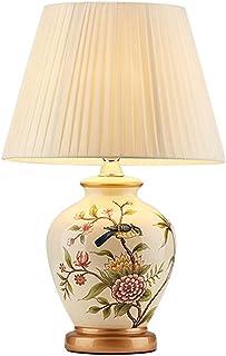 NARUJUBU American Retro Lampe de Table en céramique, Style Traditionnel Antique, Simple Moderne American Style Rural Tous ...