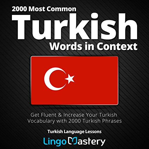 『2000 Most Common Turkish Words in Context』のカバーアート