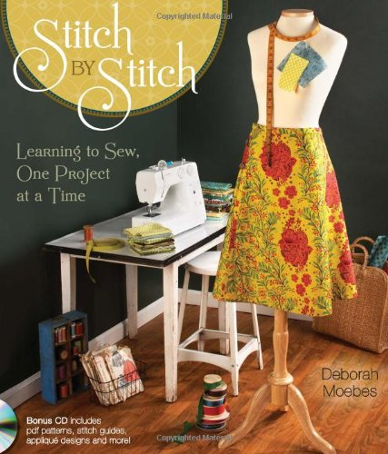 Buy Bargain Stitch by Stitch: Learning to Sew, One Project at a Time