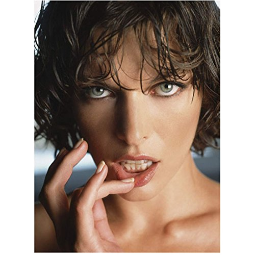 Milla Jovovich Head Shot with Beautiful Eyes 8 x 10 Inch Photo