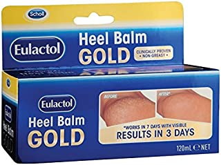 Eulactol Heel Balm Gold 120ml with 1PCS Chinese Knot Gift, Made in Australia