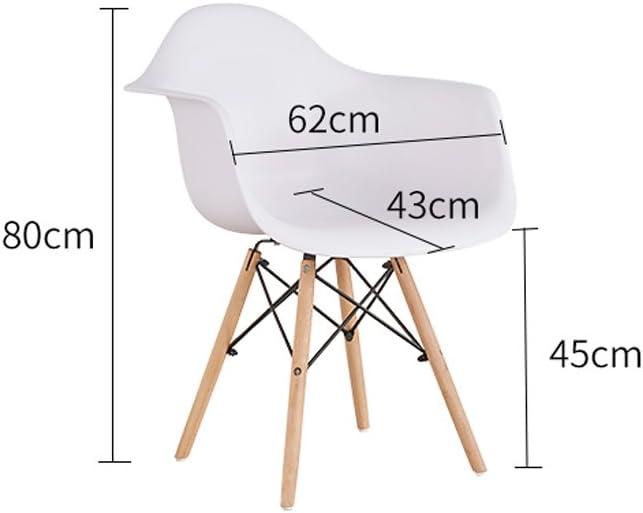 XXT Fauteuil créatif Mode Moderne Minimaliste en Plastique Chaise Durable (Color : A) D